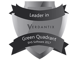 Leader in VERDANTIX Green Quadrant EHS Software 2017