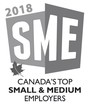 2018 SME Canada's Top small and medium employers