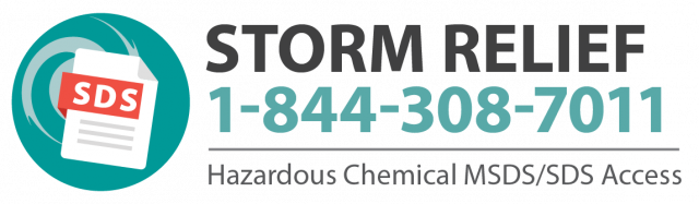 Disaster Relief Hazardous Chemical Msds Sds Access